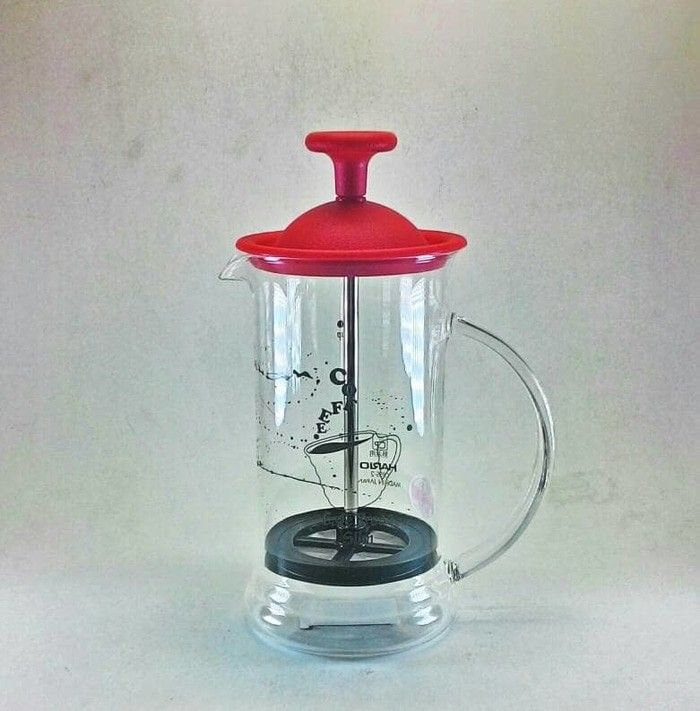 Hario French Press Coffee Maker CPSS-2-R