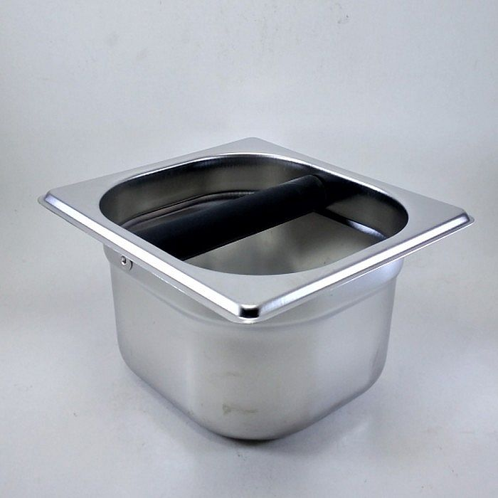 Knock Box Stainless Steel Tinggi 10 cm