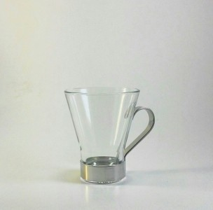 Venice Italian Tempered Glass Coffee Cup 100 ml