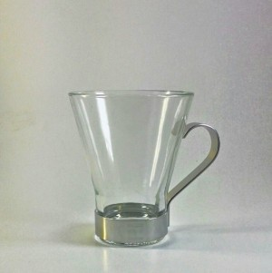 Venice Italian Tempered Glass Coffee Cup 200 ml