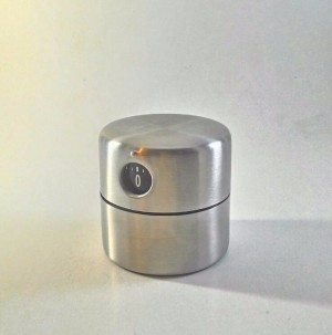 Timer Dapur Manual IKEA Ordning Stainless Steel Analog Kitchen Timer