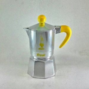 Bialetti Break Moka Pot Coffee Maker for 1 Cup