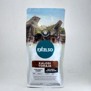 Excelso Coffee Kalosi Toraja Single Origin Coffee Beans 200 gram