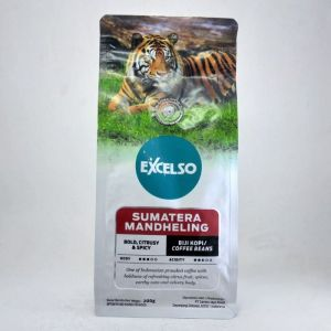 Excelso Coffee Sumatera Mandheling Single Origin Coffee Beans 200 gram